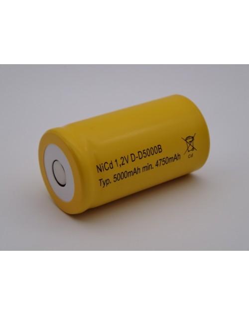 Acumulator R20 D mono Ni-Cd 1.2V 5000mAh