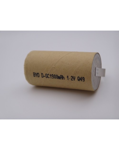 Acumulator industrial BYD subC Ni-Cd, 1.2V, 1900mAh pentru bormasina, surubelnita electrica, aspirator