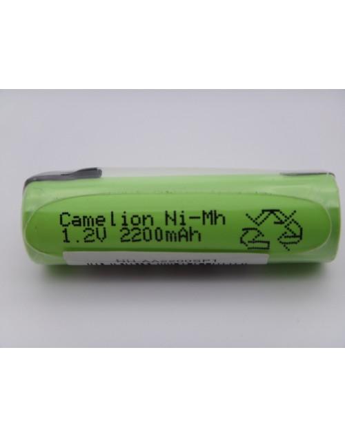 Camelion acumulator industrial R3, AAA, 1.2V, 800mAh Ni-Mh lamele pentru lipire