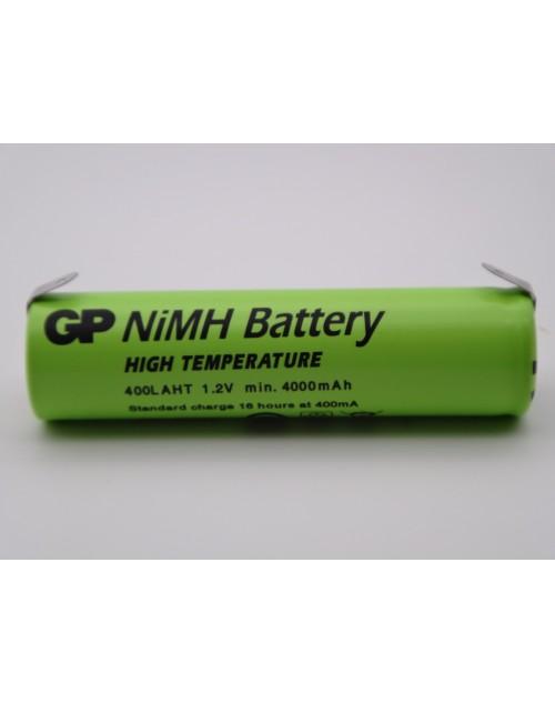 Acumulator GP 400LAHT 1.2V Ni-Mh 4000mAh 7/5A cu lamele pentru lipire