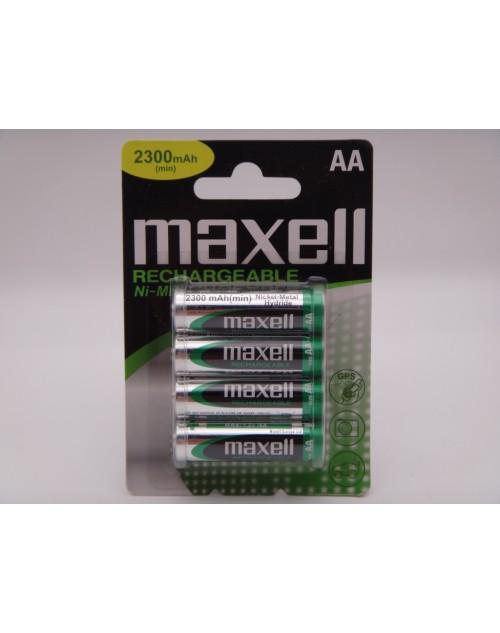 Maxell acumulatori HR6, 2300mAh Ni-Mh 1.2V MN1500