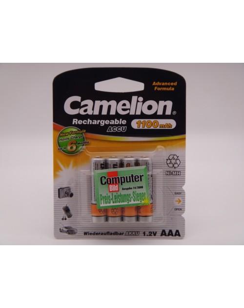 Camelion acumulatori HR03 AAA, Ni-Mh, 1.2V, 1100mAh blister 4