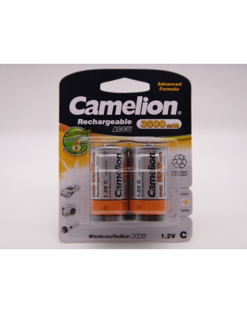 Camelion acumulatori C, HR14, 3500mAh baby Ni-Mh 1.2V NH C3500 BP2