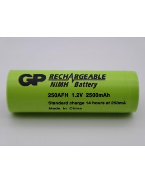 Acumulator GP 250AFH 1.2V 2500mah Ni-Mh A, R23 lamele pentru lipire