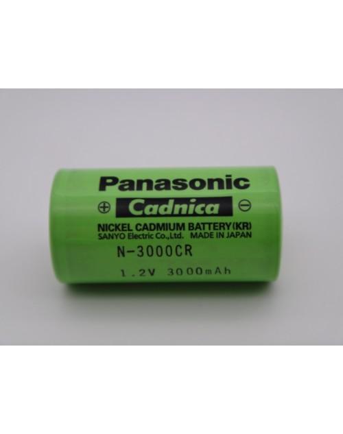 Acumulator Panasonic Cadnica 1.2V R14 tip C 3000mAh Ni-Cd N-3000CR