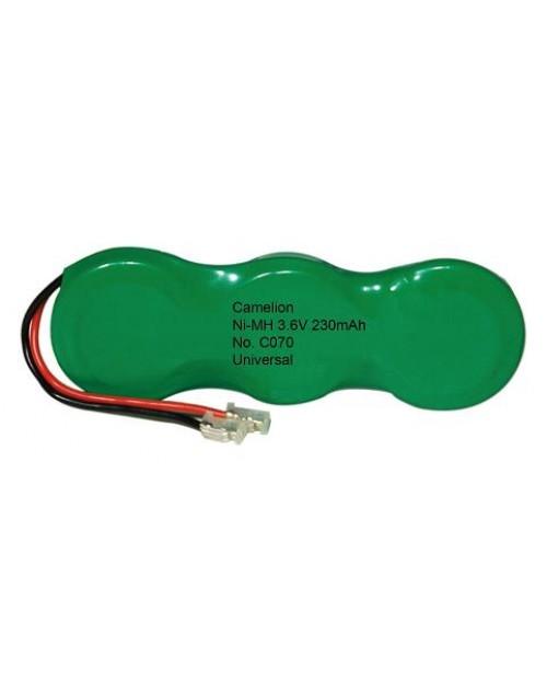 Camelion acumulator pentru telefon fix de camera fara fir C070 3.6V 230mAh