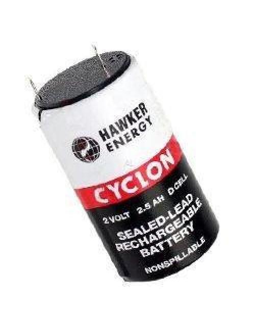 Cyclon acumulator R20 D 2V 2,5Ah  D cell Hawker Energy