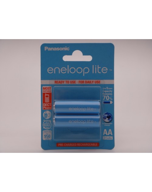 Acumulatori Panasonic Eneloop LITE R6 AA 950mAh 1,2V telefon dect BK-3LCCE/2BE