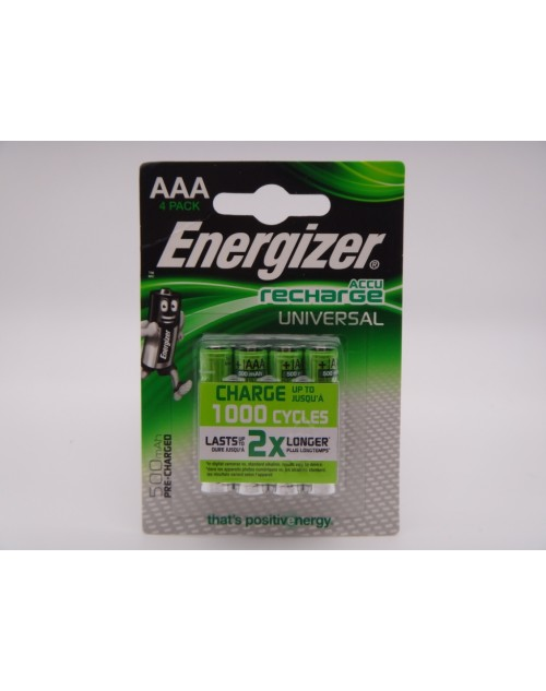 Energizer 500mAh acumulatori 1.2V AAA HR03 Ni-Mh telefon fix, lampi solare