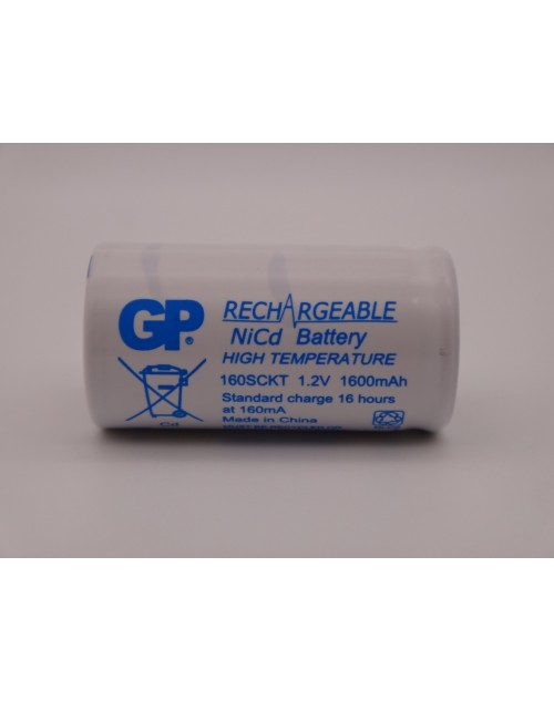 GP Batteries acumulator subC industrial Ni-Cd 160SCKT 1,2V 1600mAh