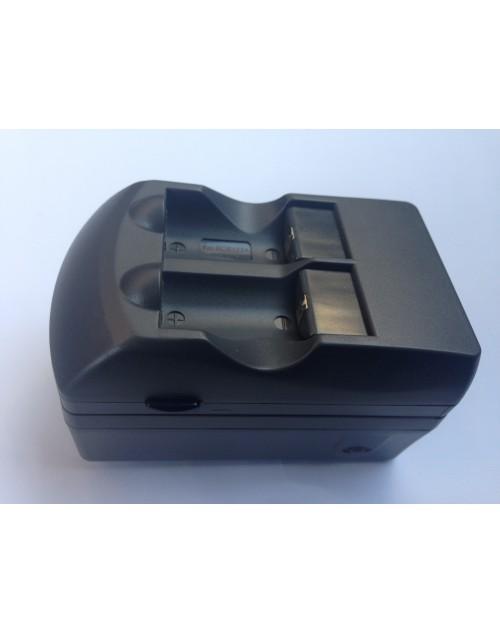 Incarcator acumulatori litiu CR123A 3V cu 2 acumulatori 500mAh inclusi
