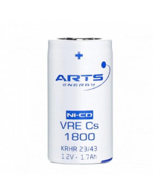 Acumulator industrial Ni-Cd 1.2V 1800mAh SubC ARTS Energy pentru bormasina electrica, autofiletanta, iluminat de urgenta