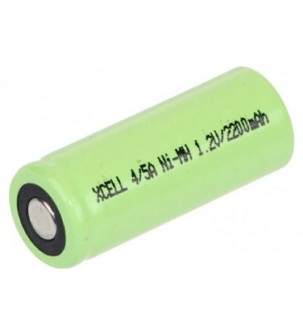 Acumulator aspirator Ni-Mh 4/5A 1.2v 2200mAh Xcell dimensiuni h 43mm x 17 mm
