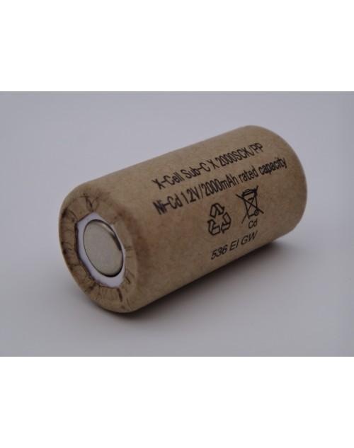 Xcell acumulator industrial subC 2000SCK/PP Ni-Cd 1.2V 2000mAh