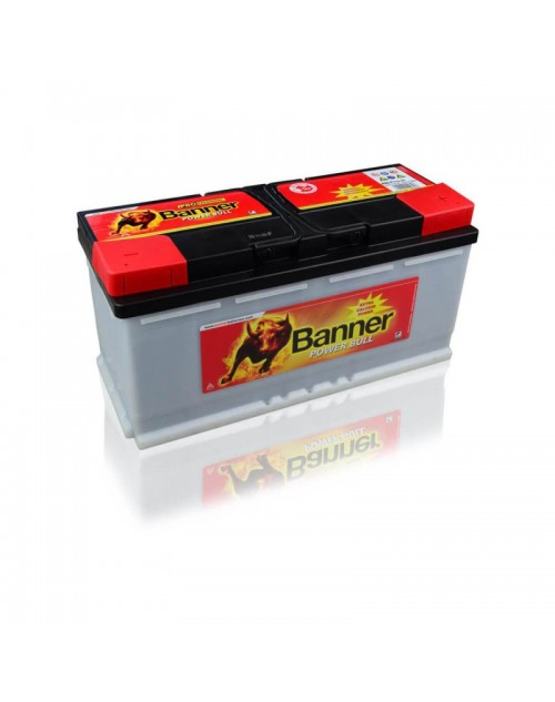 Banner 12V 110Ah 850A baterie auto Power Bull Professional cod PRO P11040