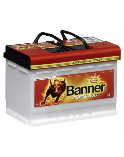 Banner 12V 63Ah 600A baterie auto Power Bull Professional cod PRO P6340