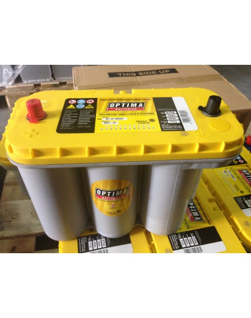 Baterie auto Optima Yellow TOP 12V 75Ah 975A YT S5,5 AGM DEEP Cycle&Starting cod 851187 0008882
