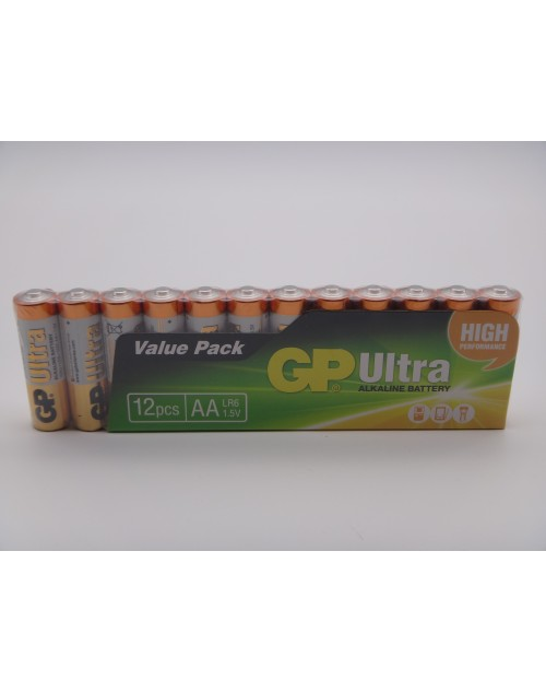 Baterie GP15AU-2VS12 ultra alcalina LR6 AA 1.5V set 12