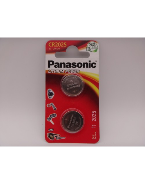 Panasonic CR2025 baterie litiu 3V blister 2
