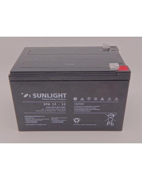 Sunlight 12V 12Ah acumulator AGM VRLA SPA 12-12