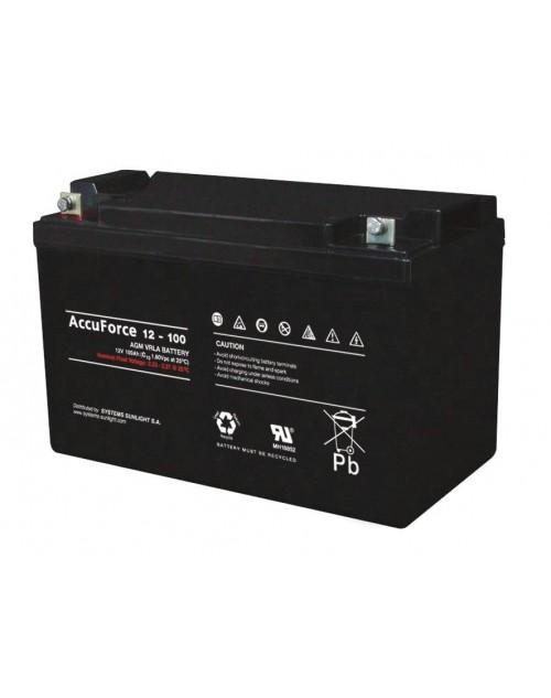 Sunlight 12V 100Ah acumulator AGM VRLA Accu Force 12-100