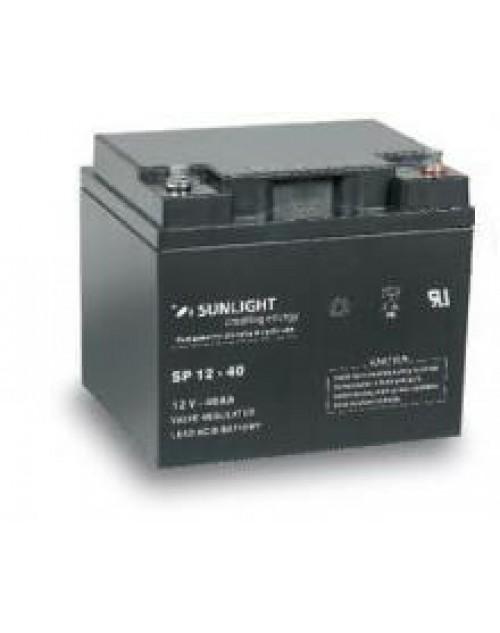 Sunlight 12V 40Ah acumulator AGM VRLA Accuforce 12-40