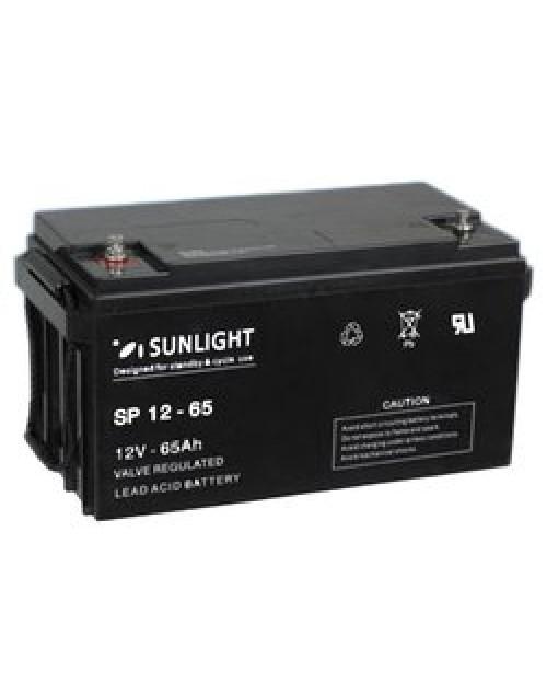 Sunlight 12V 65Ah acumulator AGM VRLA Accu Force 12-65
