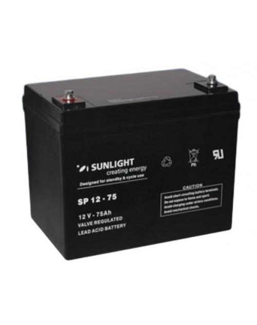 Sunlight 12V 75Ah acumulator AGM VRLA Accu Force 12-75