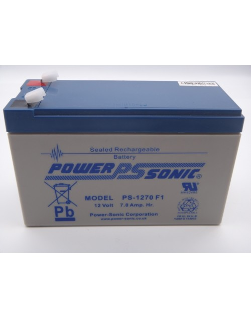 Power Sonic PS-1270 HR acumulator UPS 12V 7Ah F1 VRLA