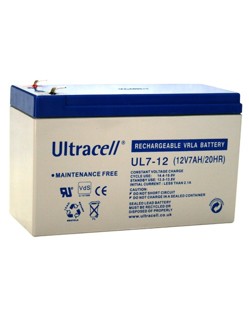 ULTRACELL acumulator UPS stationar VRLA  12 V - 7Ah