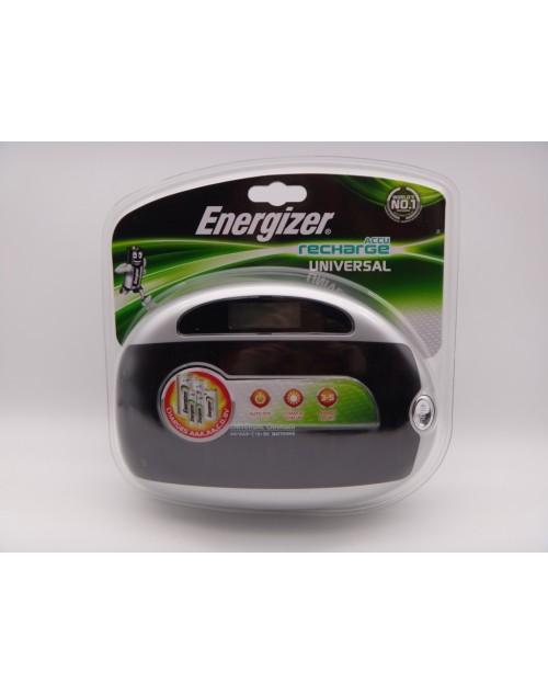 Energizer incarcator universal, 4 posturi AA, AAA, C, D, 9V Ni-Mh model 632959