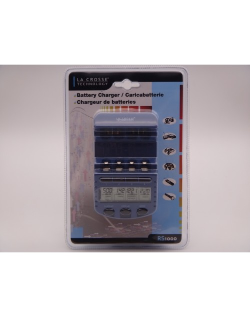 Incarcator inteligent AA / AAA LaCrosse multifunctional RS1000